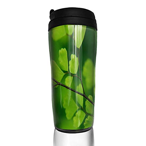 Chu warm Coffee Cups Green Apricot Travel Tumbler Insulated Leak Proof Drink Containers Holder Great 12 Ounces