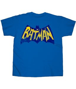 Batman Distressed Vintage Logo Men's T-Shirt