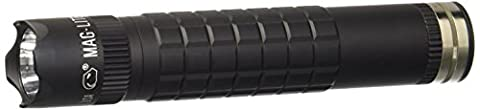 Maglite Mag-Tac LED Rechargeable Flashlight System- Crowned-Bezel, Black - 3 Light Jt System