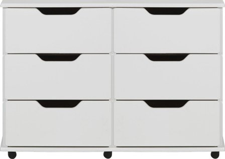 ready assembled white chest of drawers uk. white 6 drawer chest of drawers ready assembled modern rio bedroom furniture uk