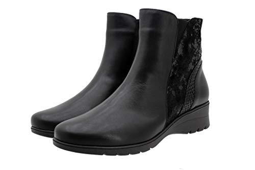 Lacets Piesanto Ville Noir Pour Femme À De Chaussures H6IHO