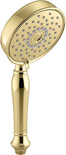 (Kohler K-22163-PB Bancroft Handshower, Vibrant Polished Brass)