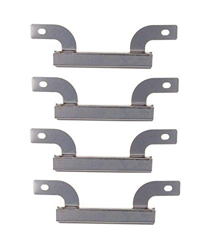(Hongso CTI423 (4-pack) Stainless Steel Burner Replacement for Select Brinkmann Gas Grill Models (7 5/8)