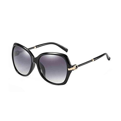 nbsp;Adecuado De Conducción UV Turismo Purple Black Lente grey Personalidad nbsp;Moda De Protección Elegante para El Polarizado Mujer para Compras Gafas Floral De Honey Blue Color Sunny Sol De nbsp; wIqZZWB