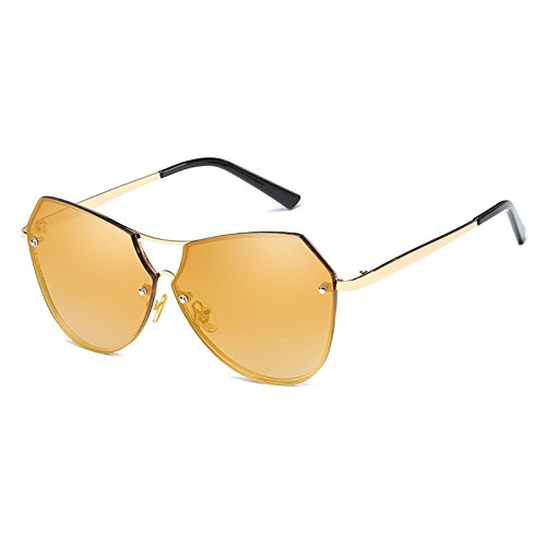Metálica Burenqi Sol Eyewear Moda B Para Oval Nariz Marca f Viga Sombras Designer Gafas Doble De Mujer rAwt8nqA6