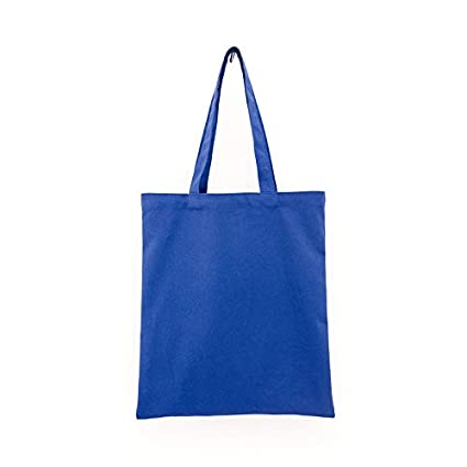 cb3556c7f1d7 Amazon.com  Opromo Wholesale Reusable Canvas Tote Bags for Crafting and  Decorating