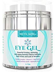 Eye Gel for Dark Circles, Puffiness, Wrinkles and Bags - The Most Effective Anti-Aging Eye Gel for Under and Around Eyes. - 1.7 fl. oz (Most Effective Eye Cream For Dark Circles)