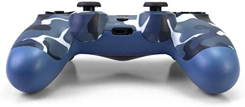 Petilleur PS4 Wireless Bluetooth Game Controller Ps4 Controller with Light bar (Camouflage Blue)