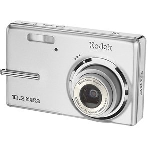 - Kodak Easyshare M1073IS 10.2 MP Digital Camera with 3xOptical Image Stabilized Zoom (Silver)
