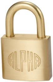 アルファ 南京錠 1000-30 2個セット
