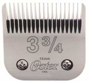 Price comparison product image Oster Detachable Blade # 3 3/4 (76918-206)