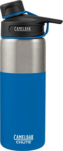 Stainless Water Bottle Collection (CamelBak (1287401060) Chute Vacuum Insulated Stainless Water Bottle -  Cascade, 20 oz)