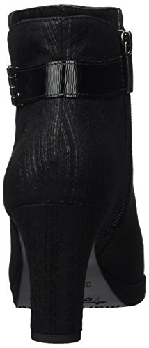 25370 Femme Noir Bottes Black Comb Tamaris fqzTwT