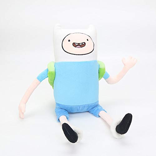 PAPWELL Finn Plush Toy 17 inch Adventure Time Toys Hot Soft Stuffed Cotton Christmas Halloween Birthday Collectable Gift Collectible The Movie Cute Big Large Collectibles for Kids -