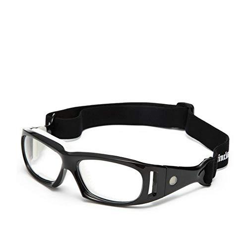 Mincl Basketball Sports Glasses Football Perfect Personality Goggles Black-yhl (black, - Basketball Glass Mens