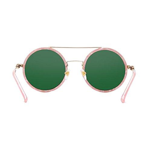 Leisure Sombrilla Ladies Gafas UV A TAC WLHW B Ultra los impactos Polarized Resistencia Plate B Decorative B Clear de a Circular Protección sol Color qttwx0zv