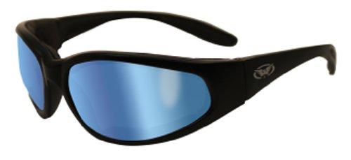 Global Vision Eyewear Hercules Plus Safety Glasses  Gt Blue Lens
