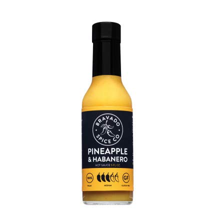 Bravado Spice Pineapple and Habanero Hot Sauce | Gluten Free | Vegan | Low Carb