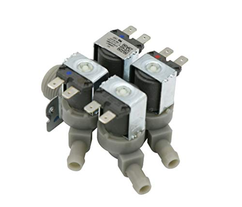 What's Up? OEM Authorized Replacement Part Washing Machine Water Inlet and Dispenser Valve 5220FR2008F for ()