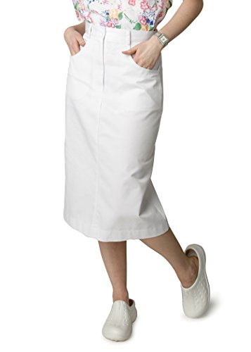 Denim And Poplin Skirt (Adar Universal Jeans Skirt - 705 - White -)