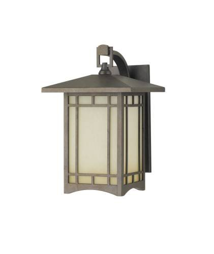 Murray Feiss MF OL5302 Craftsman / Mission 1 Light Outdoor Wall Sconce from the, Corinthian Bronze