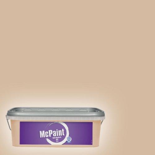 McPaint Bunte Wandfarbe matt Coffee Cream 2,5 Liter