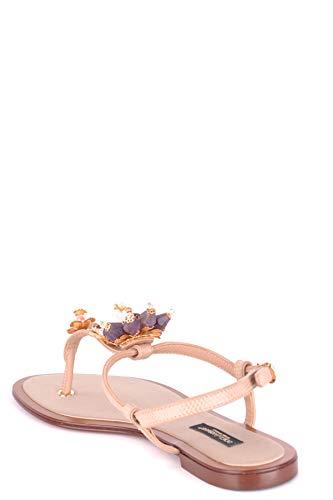 Femme E Dolce Sandales Mcbi099386o Gabbana Cuir Rose UREq1Fx