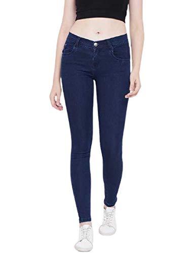 Shine World  Slim Women Jeans  Dark Blue