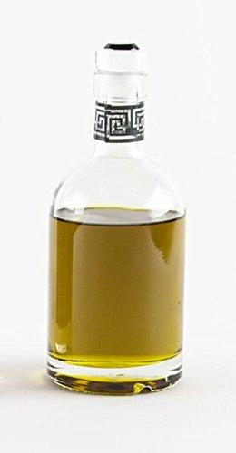 di Potter Round Olive Oil or Vinegar Bottle, Clear