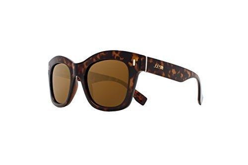 Joes Jeans Women's Jj 16011 Fashion Square Sunglasses, Tortoise, 135 - Sunglasses Joe's Jeans