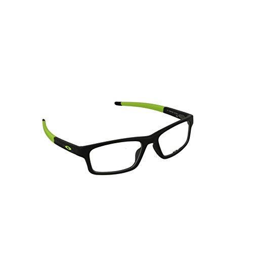 5d5b1fcba1c Oakley Crosslink Pitch (52) Mens Eyeglass Frames - Satin Black Retina Burn