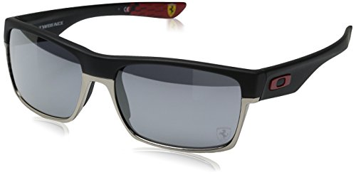 fd69b02016f02 ... ireland amazon oakley mens twoface a 0oo9256 non polarized iridium  rectangular sunglasses matte black 60.02 mm