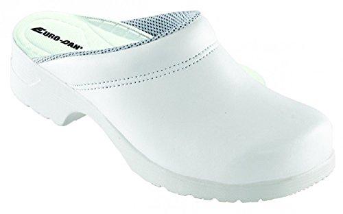 Euro-Dan , Chaussures de sécurité pour homme Blanc Blanc