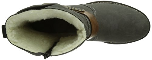 Rieker Z6864-45 - Botas Mujer Grau (fumo/mogano / 45)