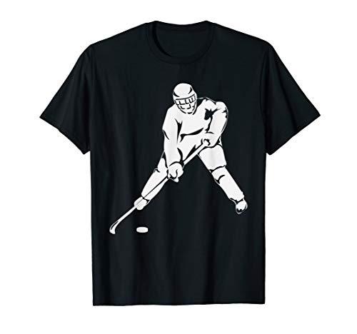 Hockey Player Shirt - Pock Hockey Mask