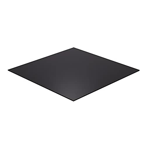 "Falken Design BK2025-3-8/1224 Acrylic Black Sheet, 12"" x 24"", 3/8 Thick supplier"