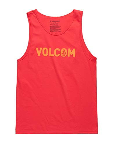 (Volcom Cement Tank Top, Red, XX-Large)