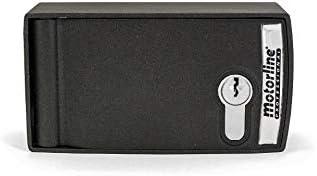 Caja de seguridad blindada para desbloqueo y accionamiento exterior para motor enrollable de persiana metalica comercial, puerta garaje y parking Motorline CSV200: Amazon.es: Bricolaje y herramientas