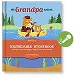 Hallmark KOB9009: My Grandpa and Me- Recordable Storybook