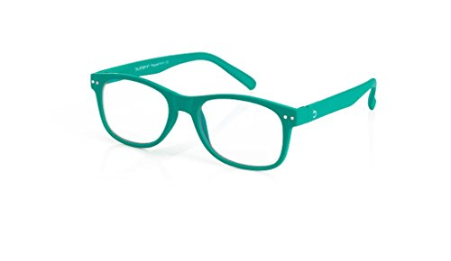 (Blueberry - Computer Glasses - Size L - Green - (Peppermint, Clear))