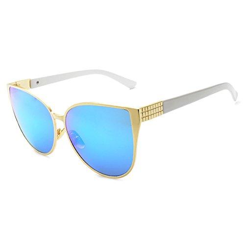 3ad19db00c Delicado Horrenz Moda de Nueva gran tama?o del ojo de gato gafas de sol de  las mujeres ...