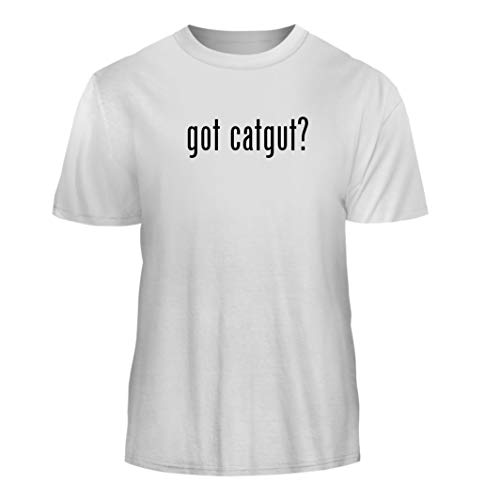 (Tracy Gifts got Catgut? - Nice Men's Short Sleeve T-Shirt, White, X-Large)