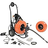 General Wire Speedrooter 92 Sewer Cleaning Machine Includes 2 Cables & Cutter Set,P-S92-A