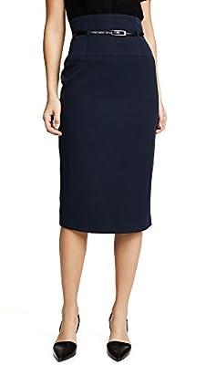 Black Halo Women's High Waisted Pencil Skirt