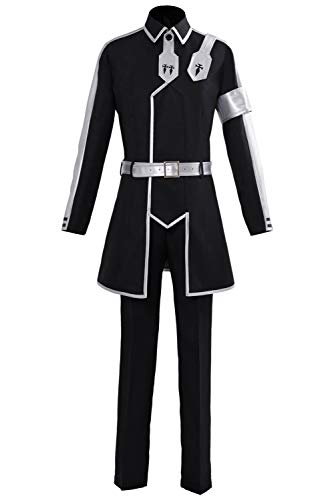 UU-Style Sword Art Online Alicization Cosplay Kirigaya Kazuto Kirito Costume SAO Halloween Full Set Suit Jacket -