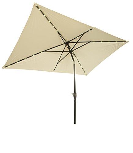 Trademark Innovations UMBLED RECT BGE Rectangular Umbrellas