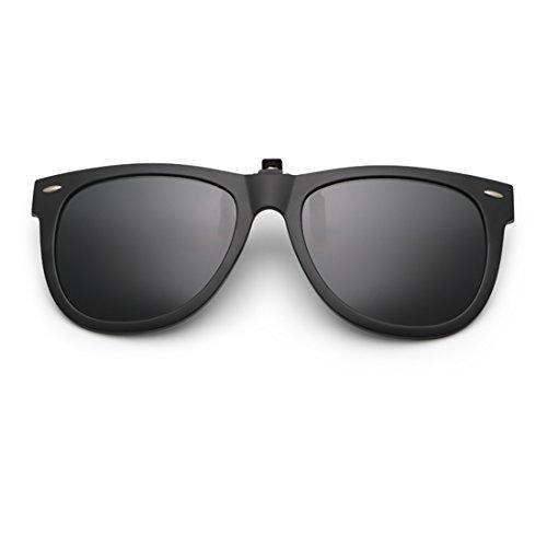Dooppa Latest Design Unisex Clip-on Flip-up Polarized Sunglasses - Various...