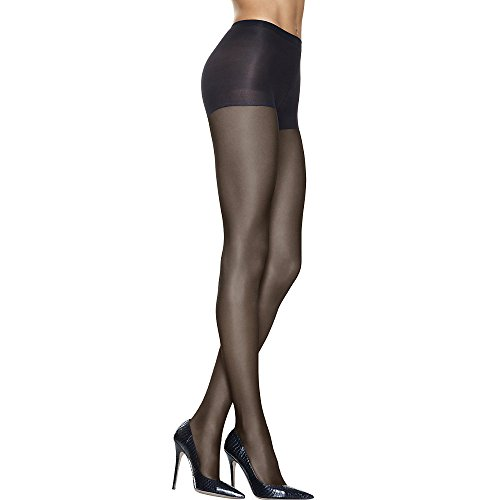 Discount Control Top Pantyhose - Hanes Silk Reflections High Waist Control Top,,Jet,,CD