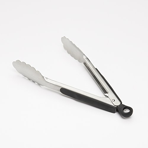 """B M Kitchen Tongs: OXO 28481 Stainless Steel 9"""" Tongs 9-Inch"""