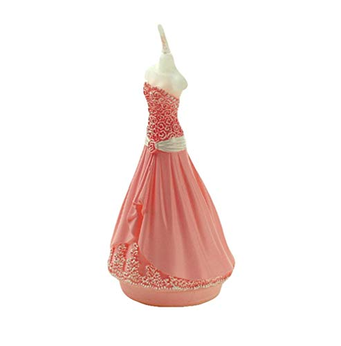 Leono 1 Pcs Dress Modeling Candle Creative Shape Wedding Candle Suitable for The Center Living Room/Restaurant Desktop Decoration, Adding Beauty to Your Wedding